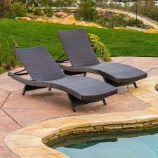 christopher knight home toscana outdoor brown wicker lounge pack