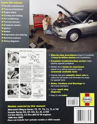 mitsubishi magna automotive repair manual 1996 2005 haynes
