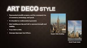 art deco arts and crafts bungalow ppt video online download