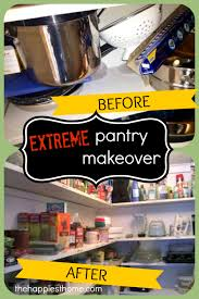 Home Makeover 2010 by Extreme Pantry Makeover The Happiest Home