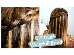 cute girl hairstyles diy diy dutch waterfall braid cute girls hairstyles youtube