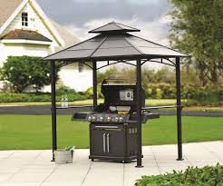 Lowes Patio Gazebo by Triyae Com U003d Gazebo Backyard Bbq Various Design Inspiration For