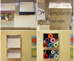 shoebox shelves 6 steps with pictures