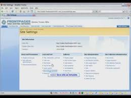 sharepoint 2007 tutorial how to create a sharepoint site