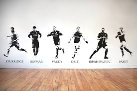 Liverpool Wall Stickers World Class Footballers Vinyl Transfer Wall Stickers