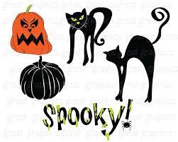 spooky halloween clip art halloween clipart halloween clip art halloween digital download