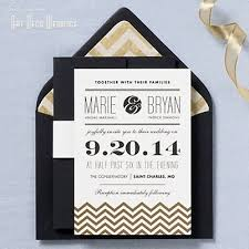 art deco wedding invitation template best template collection