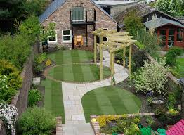 Pergola Garden Ideas Beautiful Residential Landscape Backyard With Pergola Garden