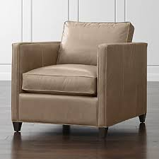 club chairs crate and barrel