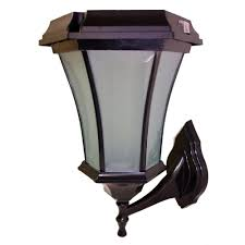 Outdoor Solar Lamp Post by Charming Solar Lamp Post Lights Mission Style 53 Solar Lamp Post