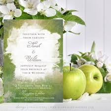 green wedding invitations wedding invitation green wedding invitation watercolor