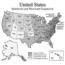 United States Map 1860 by Quia Class Page Westward Expansion Map 253 U S Civil War And