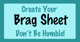Guidance Counselor Brag Sheet 7 Tips For Rising Seniors 6 Create Your Brag Sheet Jlv