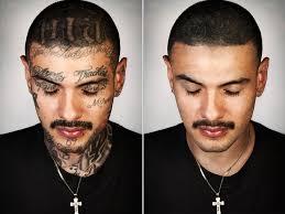 steven burton photoshops away ex gang members u0027 tattoos for u0027skin