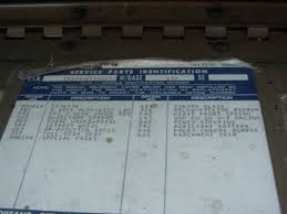 1970 color code the 1947 present chevrolet u0026 gmc truck message