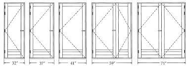 Standard Door Width Exterior Standard Exterior Door Heights Exterior Doors Ideas