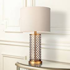 alcazar brass and mercury glass table lamp 3p911 lamps plus