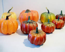Fake Fruit Centerpieces by Artificial Pumpkins Etsy