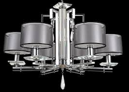 Large Glass Chandeliers Iron Fabric And Glass Chrome Modern Glass Chandeliers For Hotel