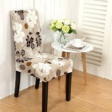 Dining Chair Seat Cover Honana Wx 915 Elegant Flower Landscape Elastic Stretch Chair Seat