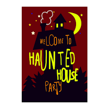 Halloween Party Haunted House Compare Prices On Halloween Flags Outdoors Online Shopping Buy