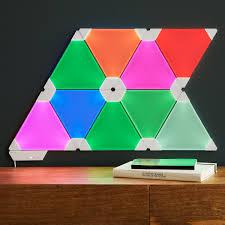 aurora smart lighting panels custom lighting wall design