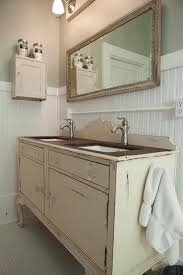 Vanities For Small Bathrooms 3 Vintage Furniture Makeovers For The Bathroom Diy Network Blog