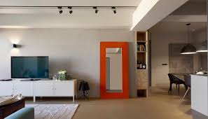 contemporary apartment tint in taipei taiwan