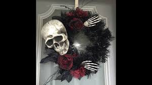 Halloween Wreaths Michaels by 2017 Halloween Door Wreaths 2 Youtube