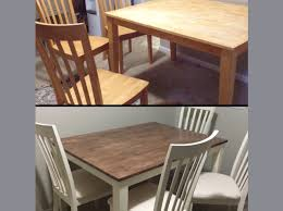 how to make a dining table from an old door how to make your old table look new for around 80 or less snapguide