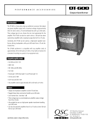 download free pdf for qsc usa 900 amp manual