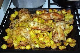 recette de cuisse de poulet au four façon nanou