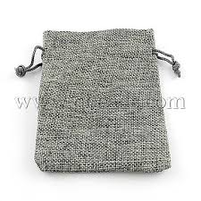 burlap drawstring bags gray cloth pouches x abag r005 17x23 04 burlap packing pouches