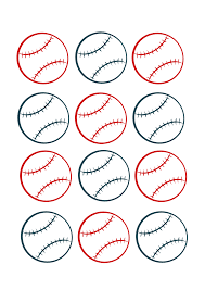 7 best images of baseball name tags free printable free