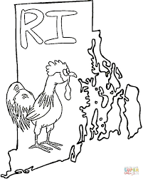 rhode island coloring free printable coloring pages