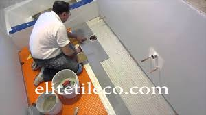 part 7 how to install wood look plank tile on schluter ditra