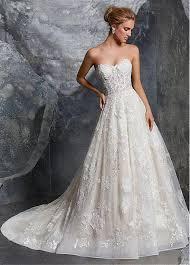sweetheart neckline wedding dress buy discount charming tulle lace sweetheart neckline a line