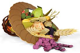 thanksgiving cornucopia centerpiece part two fruit and
