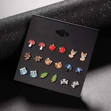 earring stud set animal earrings studs promotion shop for promotional animal