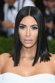 kim kardashian shoulder length hairstyles kim kardashian hair