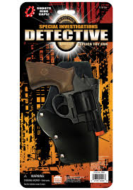 police detective toy gun cop uniform toy accessory