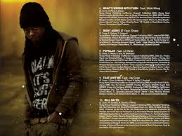 lil wayne liltunechi i am not a human being album inserts