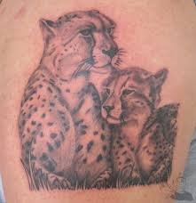 for human lion and cub tattoo for ladies lion and cub tattoo for