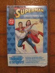 superman wedding album superman the wedding album collector s set 5 comic books