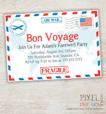 going away party invitations bon voyage party invitations bon voyage party invitations we