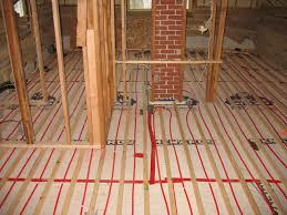 residential radiant floor heating design and installation portfolio