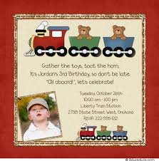 bear railroad birthday invitation cute photos express party