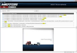 motor heavy truck service v13 0 2014 repair manual heavy