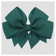 gross grain ribbon grosgrain ribbon bow hair clip cat teal target
