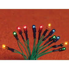 miniature christmas tree lights the dolls house emporium christmas tree lights 12 bulbs